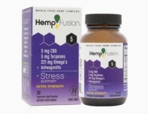 HempFusion Stress CBD Capsules