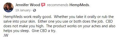 HempMeds Customer Review 4