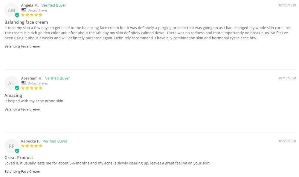 Hemptouch CBD Face Care Customer Reviews