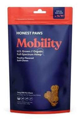 Honest Paws CBD Mobility Soft Chews