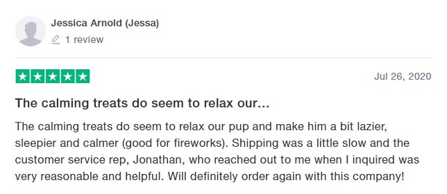 Honest Paws Customer Review 5