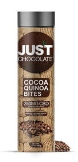 JustCBD JustChocolate Cocoa Quinoa Bites