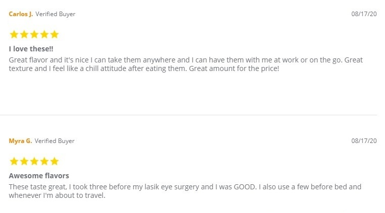 Koi CBD Gummies and Softgels Customer Reviews