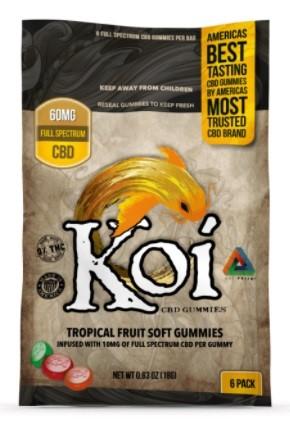 Koi CBD Gummies and Softgels