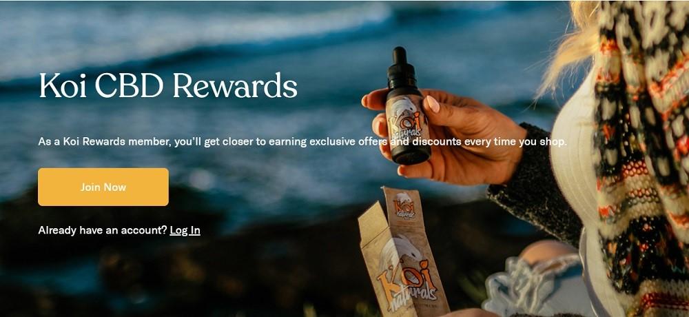 Koi CBD Rewards Program