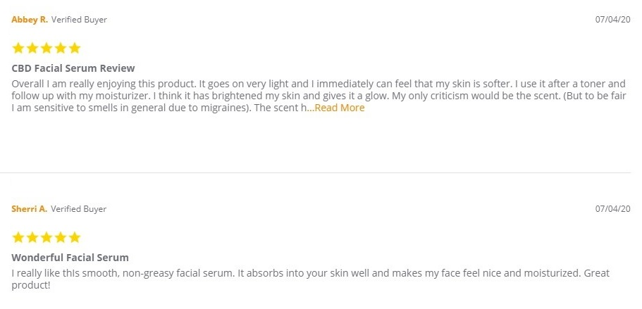 Koi CBD Skincare Customer Reviews
