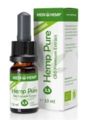 Medihemp THC-free Organic Hemp Pure Oil