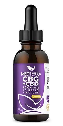Medterra CBG Plus CBD Tincture