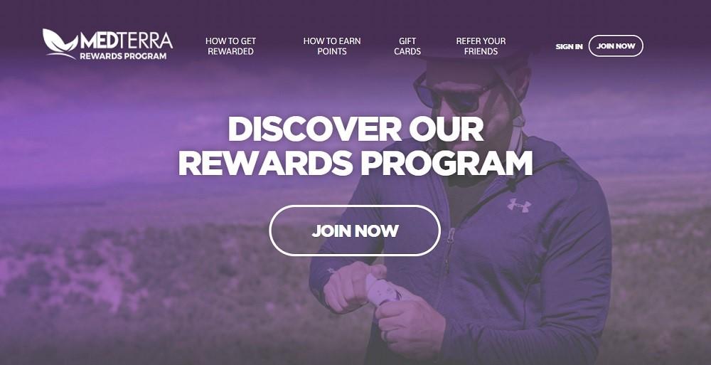 Medterra Rewards Program