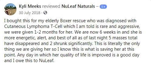 Nuleaf Naturals Customer Review 4