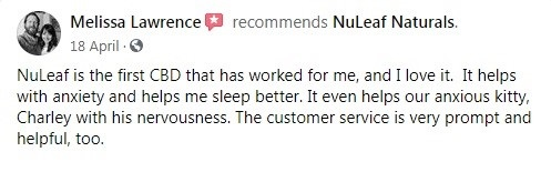 Nuleaf Naturals Customer Review 5