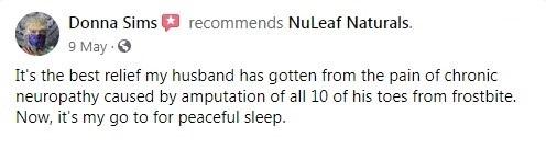 Nuleaf Naturals Customer Review 6