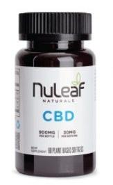 Nuleaf Naturals Full Spectrum Hemp CBD Capsules