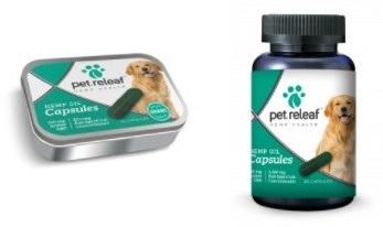 Pet Relief CBD Hemp Oil Capsules