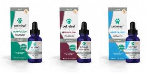 Pet Relief CBD Hemp Oil For Dogs