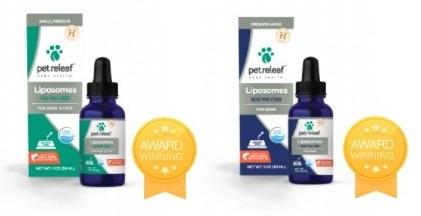 Pet Relief CBD Liposome Hemp Oil