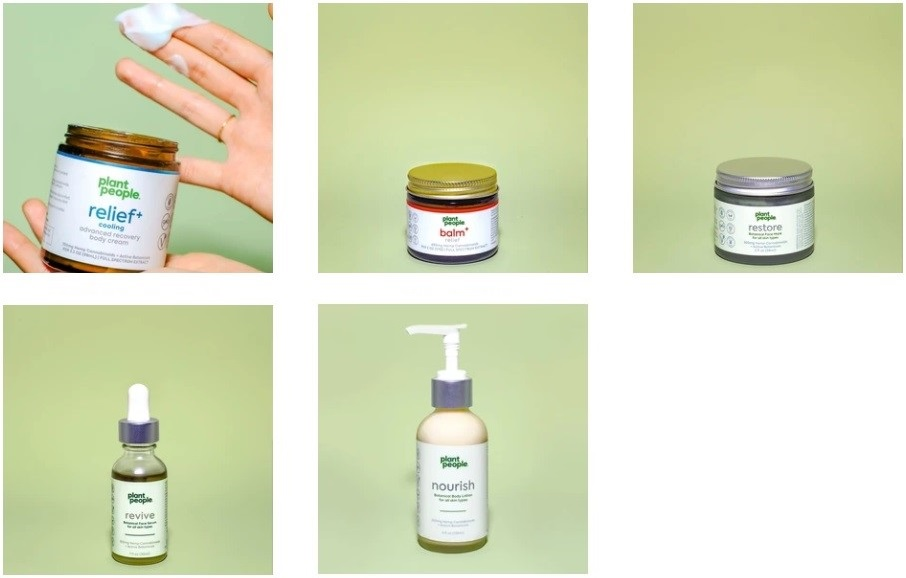 Plant People CBD Topicals and Skincare