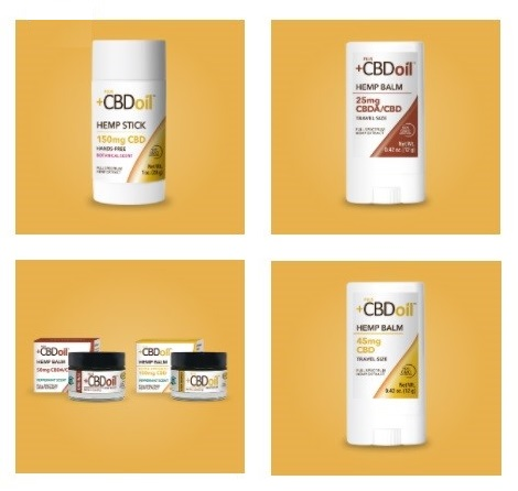 Plus CBD Oil CBD Balms