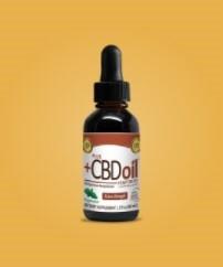 Plus CBD Oil CBD Drops Peppermint