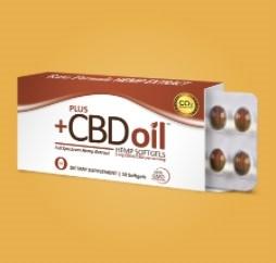 Plus CBD Oil CBD Softgels Raw