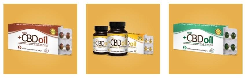Plus CBD Oil CBD Softgels