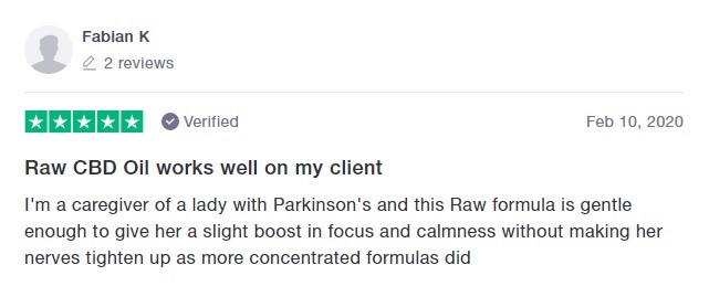 Plus CBD Oil Customer Review 4