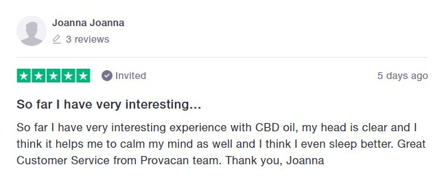 Provacan Customer Reviews 3