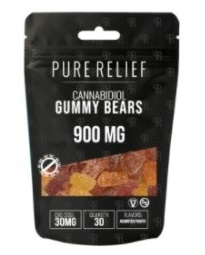 Pure Relief CBD Daytime Hemp Gummies