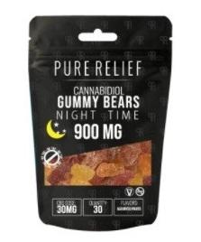Pure Relief CBD Nighttime Melatonin Gummies