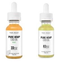 Pure Relief CBD Oils