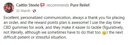 Pure Relief Customer Reviews 2
