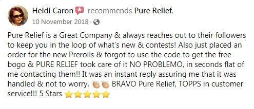 Pure Relief Customer Reviews 4