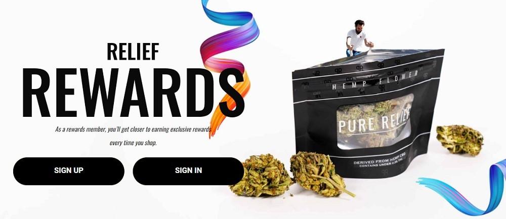 Pure Relief Rewards Program