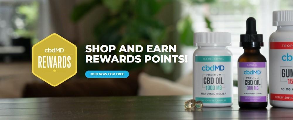 cbdMD Rewards Program