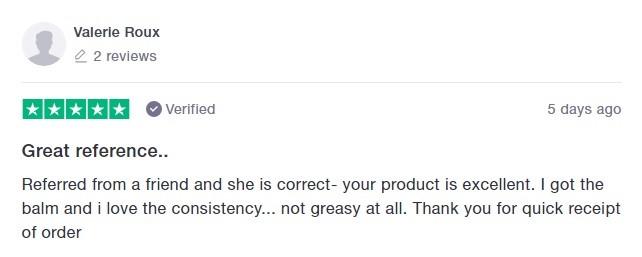 Aspen Green CBD Customer Review 4