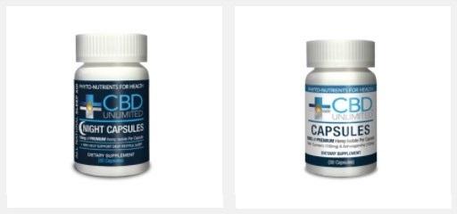 CBD Unlimited CBD Capsules