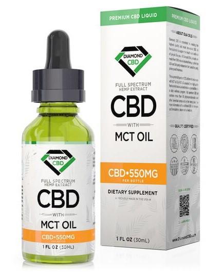 Diamond CBD The Full Spectrum CBD Oil