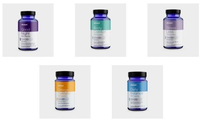 Elixinol CBD Capsules