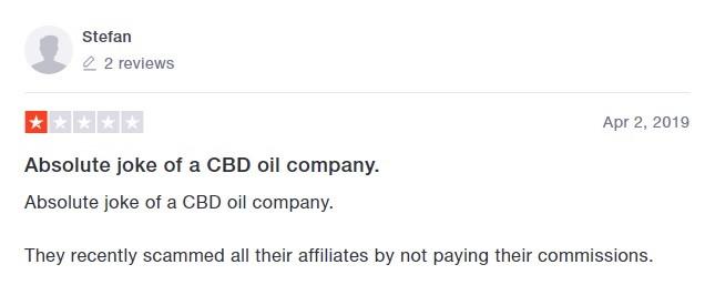 Elixinol CBD Customer Review 2