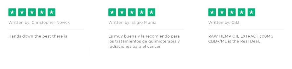 Endoca CBD Extract Customer Reviews