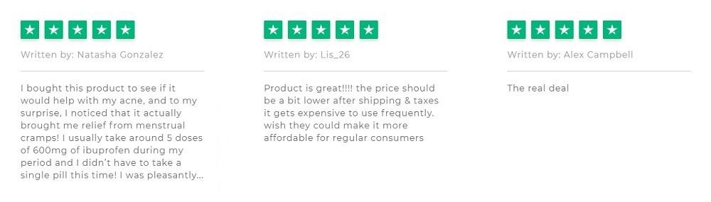 Endoca CBD Oil Customer Reviews