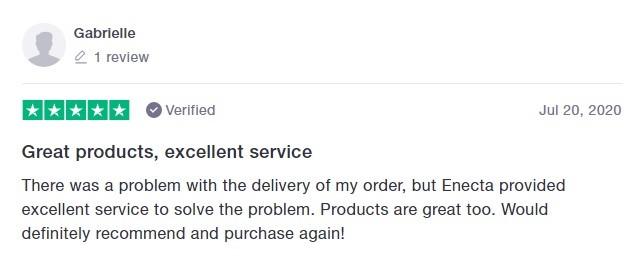 Enecta Customer Review 6
