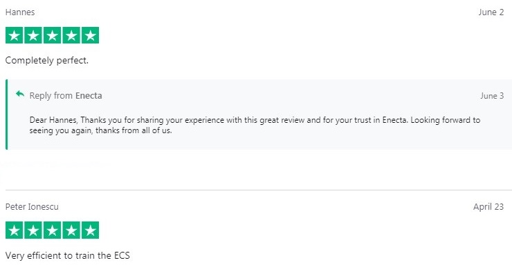 Enecta Premium Hemp Extract Customer Reviews