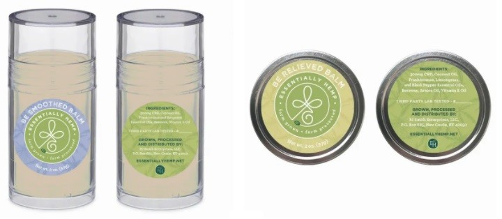 Essentially Hemp CBD Balms