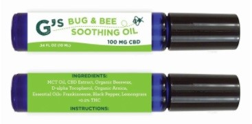 Essentially Hemp Gs Big and Bee Soothing Oil