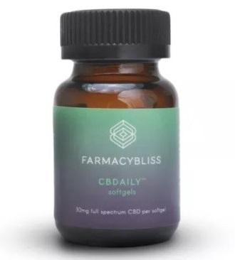 Farmacy Bliss Full Spectrum CBD Softgels