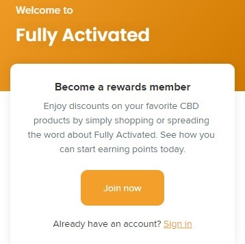 Fully Activated Rewards Program