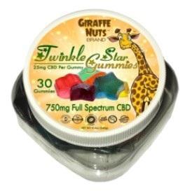 Giraffe Nuts CBD Gummies