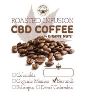 Giraffe Nuts CBD Infused Coffee