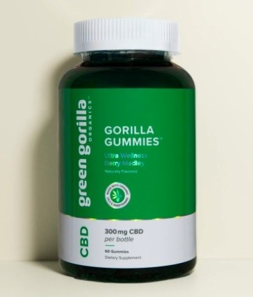 Green Gorilla CBD Gummies